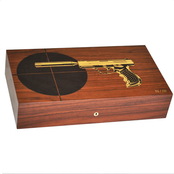 110 CIGARS ROSEWOOD GUN LIMITED EDITION
