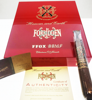 Bayside Cigars - Fuente Fuente OpusX Serie Heaven and Earth BBMF Natural