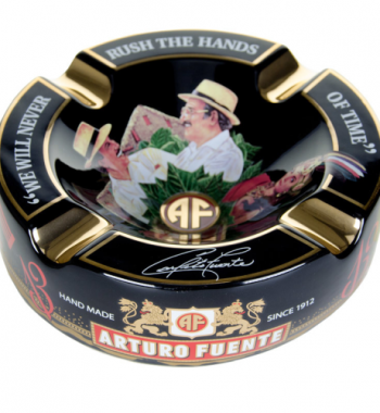 "Arturo Fuente Limited Edition Black Porcelain Cigar Ashtray (Large 8.75"" )"