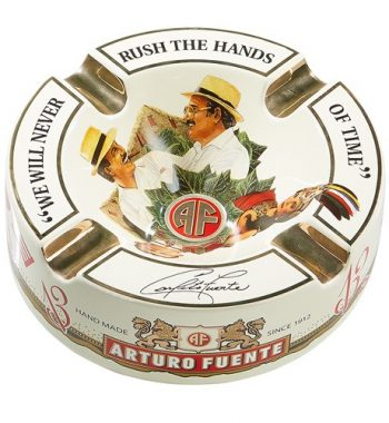 "Arturo Fuente Limited Edition Cream Porcelain Cigar Ashtray (Large 8.75"" )"