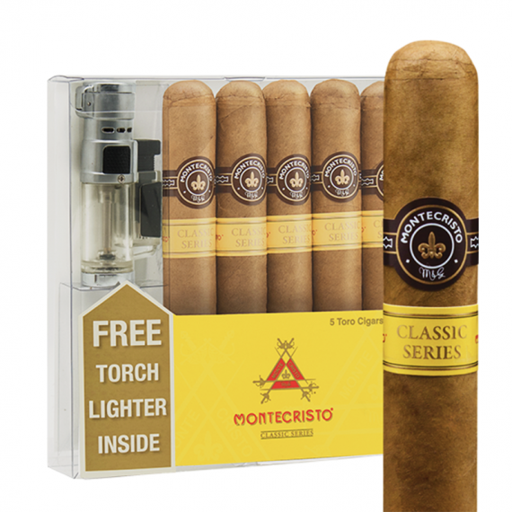 Bayside Cigars - Montecristo 5 Pack