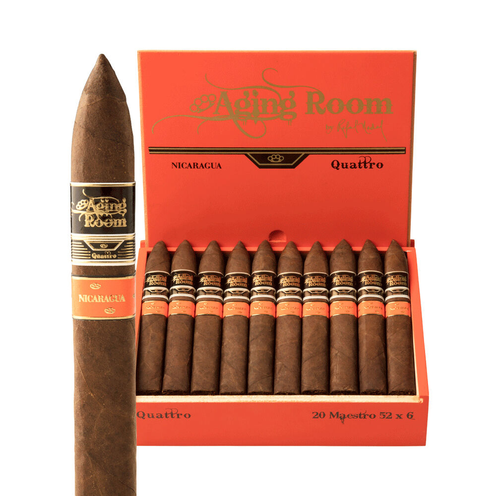 Bayside Cigars - Aging Room Quattro Nicaragua - 2019 Cigar of the Year