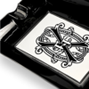 Bayside Cigars - Fuente Fuente OpusX Black and White Cigar Ashtray