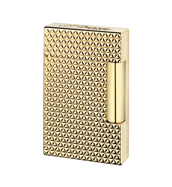 Bayside Cigars - St. Dupont - Yellow Gold finish lighter